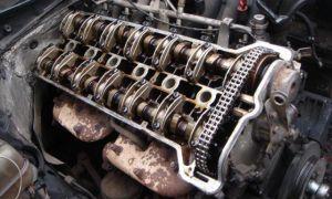 Работа 6 цилиндрового двигателя