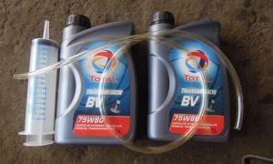 Выбор и замена масла в КПП ВАЗ 2110