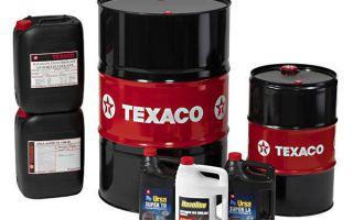 Моторное масло Texaco