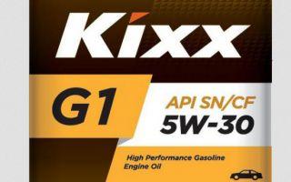 Обзор Kixx 5w-30