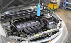 Как можно промыть форсунки не снимая их с двигателя?