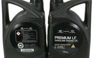 Масло Hyundai Premium LF Gasoline 5W20