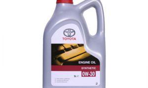 Обзор масла Toyota 0W-30