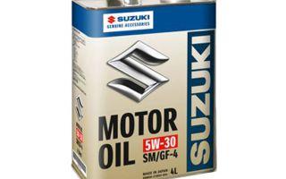 Обзор моторного масла Suzuki 5W-30