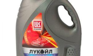 Моторное масло Лукойл полусинтетика 10w 40
