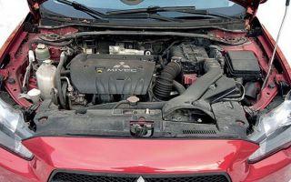 Митсубиси Лансер 10 – выбор и замена масла в двигателе