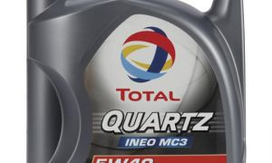 Обзор масла Total Quartz Ineo MC3 5W-30