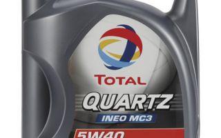 Обзор масла Total Quartz Ineo MC3 5W-30