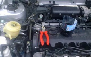 Как заменить масло в коробке Hyundai Accent