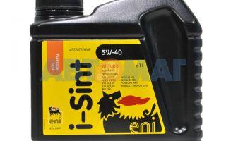 Моторное масло Eni