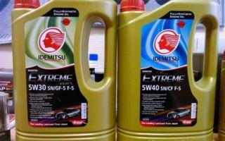 Моторное масло idemitsu 5w30