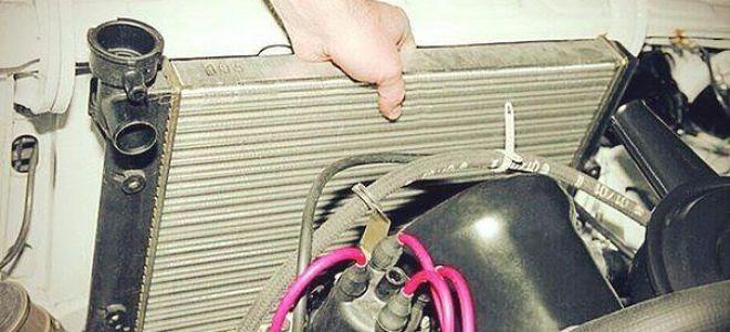 Промывка радиатора охлаждения двигателя и системы охлаждения