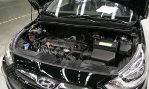 Масло для двигателя Hyundai Solaris