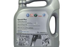 Обзор моторного масла VAG special plus 5w40
