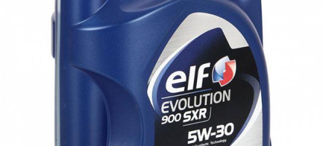 Характеристики и сферы применения elf evolution sxr 5w30