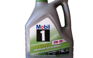 Синтетическое масло Мобил 1 Formula ESP: обзор продукта