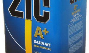 Полусинтетическое масло ZIC 10w 40