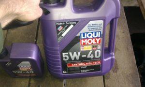 Моторное масло Liqui Moly 5w40