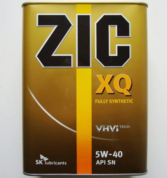 Масло ZIC 5w-40
