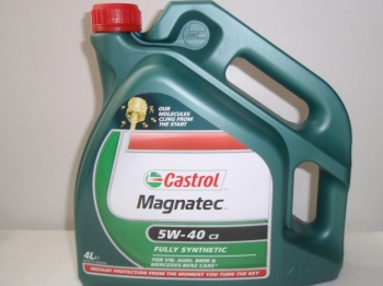 Масло Castrol 5w-40