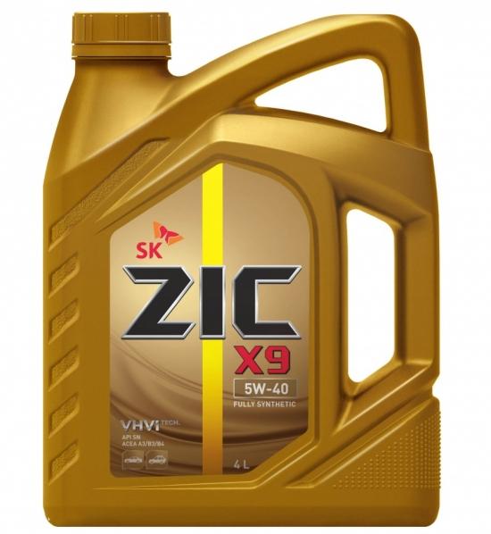 Моторное масло ZIC 5w-40
