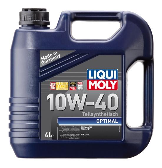 Полусинтетика Liqui Moly 10w-40