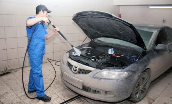 Чем отмывать двигатель?