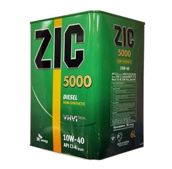 Масло ZIC 10w-40 5000