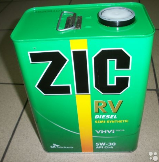 ZIC 10w-40 RV