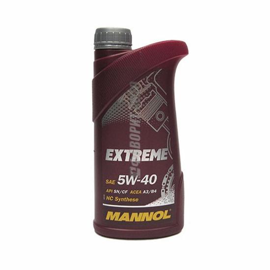Масло 5w-40 Mannol