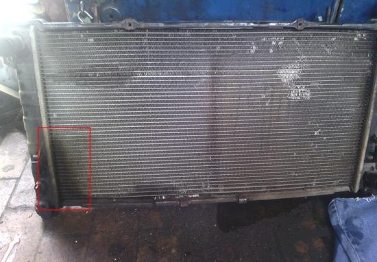 Течет радиатор