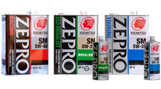 Масло Idemitsu Zepro
