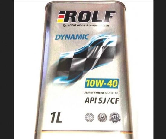 Rolf Dynamic 10w40 SJ/CF