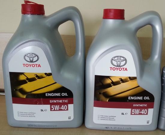 Подделка Toyota 5w40