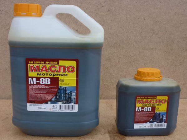 Моторные масла М8 В – назначение, критерии выбора