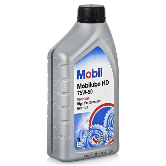 масло для кпп Mobil HD 75W-90