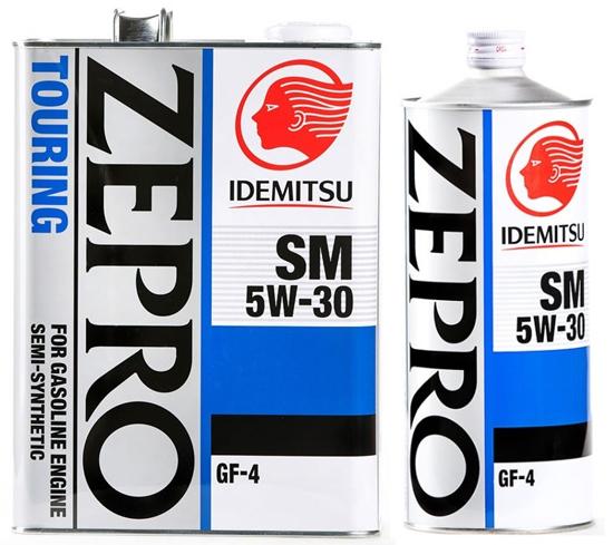 характеристики масла idemitsu zepro touring 5w30