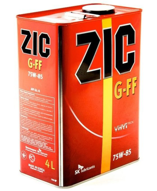 масло zik-75w85