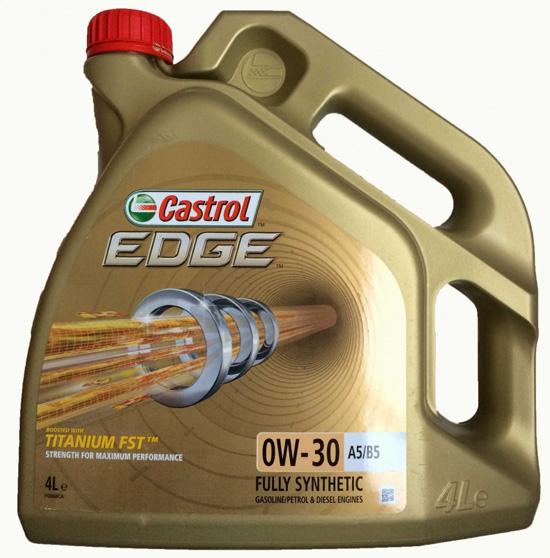 моторное масло Castrol EDGE SAE 0W-30