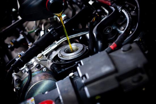 замена масла в дизельном двигателе