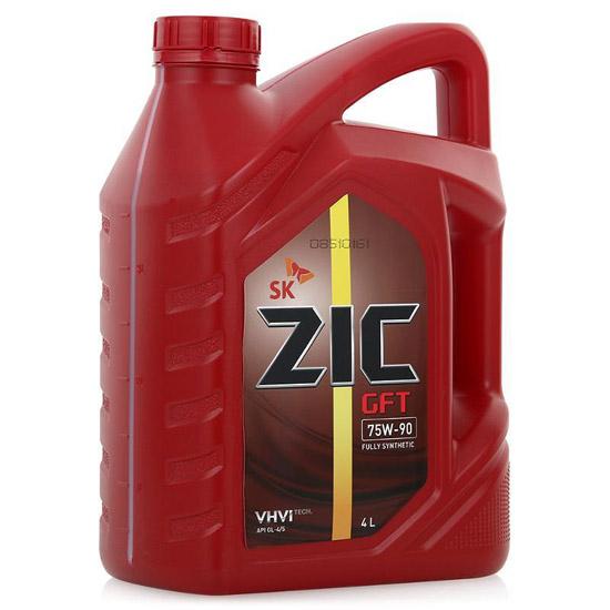 масло Zic 75W90