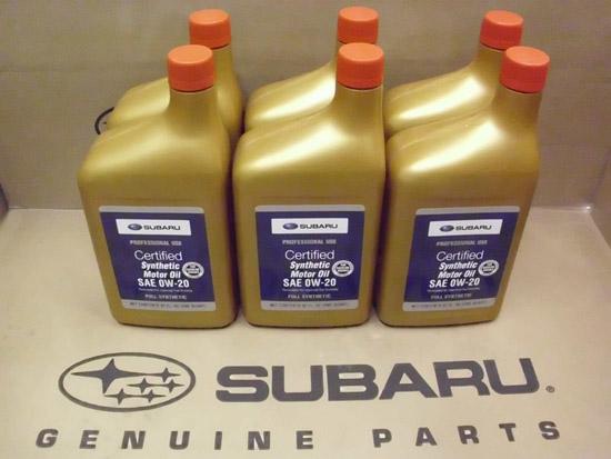 масло Субару