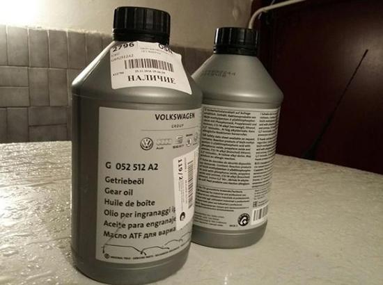 оригинальное масло фольксваген
