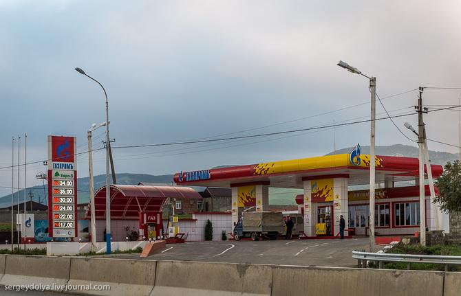 Бензин в Чеченской республике