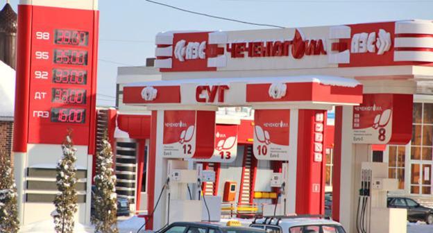 Бензин в Чечне
