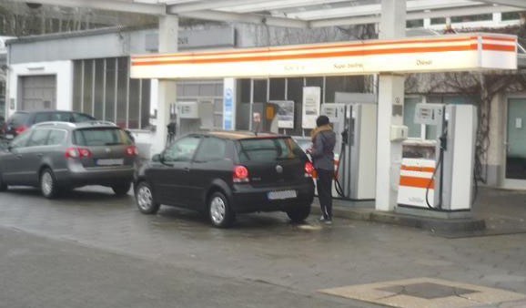 Цена бензина в Германии за литр