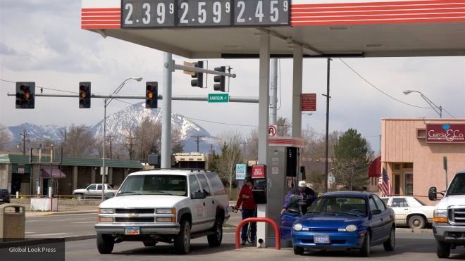 Цена бензина в США
